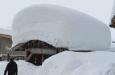 Ingang Hotel Village Montana in Val Thorens